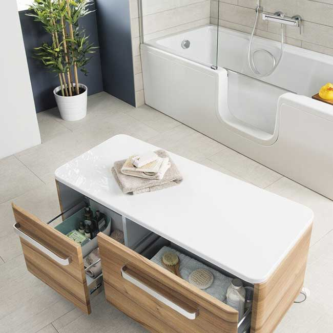 Vitra Nest Trendy Bathroom Designs 4
